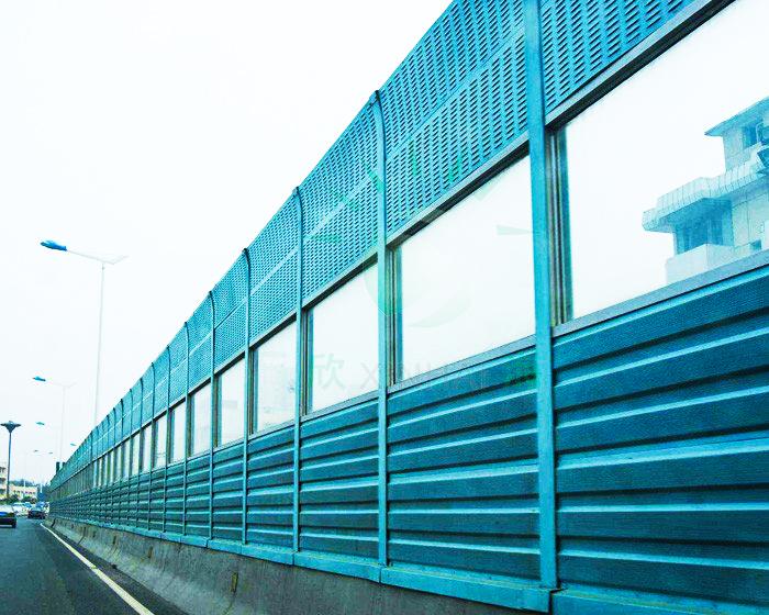 河南高速耐力板隔音声屏障