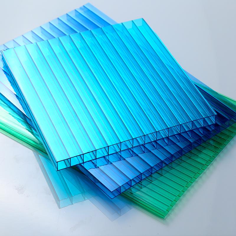 双层蓝绿双混阳光板