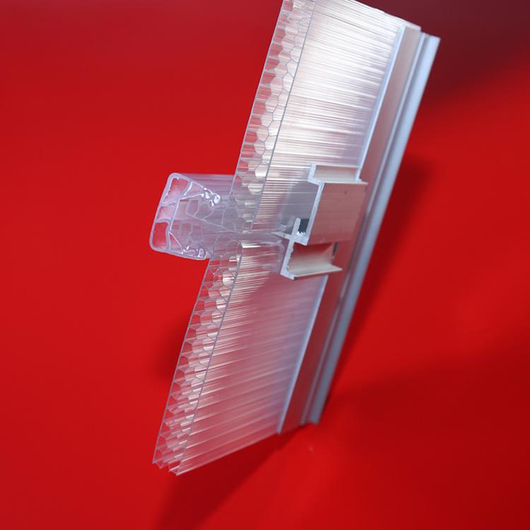 阳光板配件U型锁扣