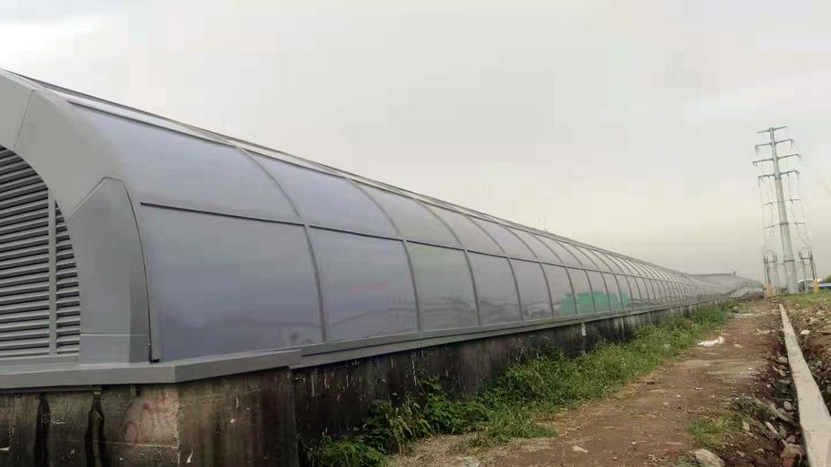 青岛地铁站耐力板工程